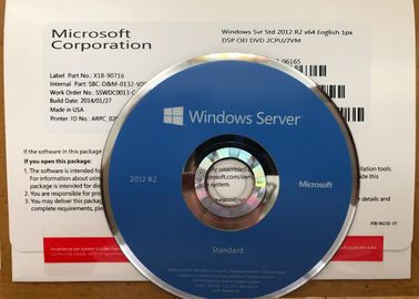 China 100% originele Windows Server 2012r2 Versies met Hoofdzaakgarantie fabriek