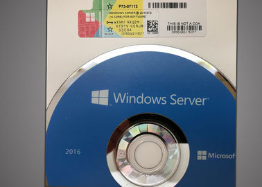 China DVD-Windows Server 2016 16 Kern, Server 2016 Standard Edition Verklaard Microsoft fabriek